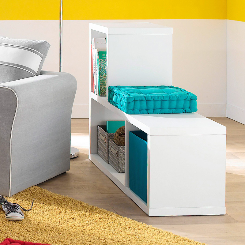 etagere cube blanche