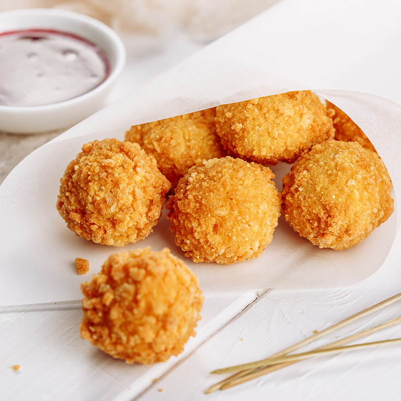 croquettes macaronis frits