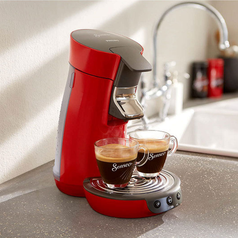 cafetiere senseo rouge