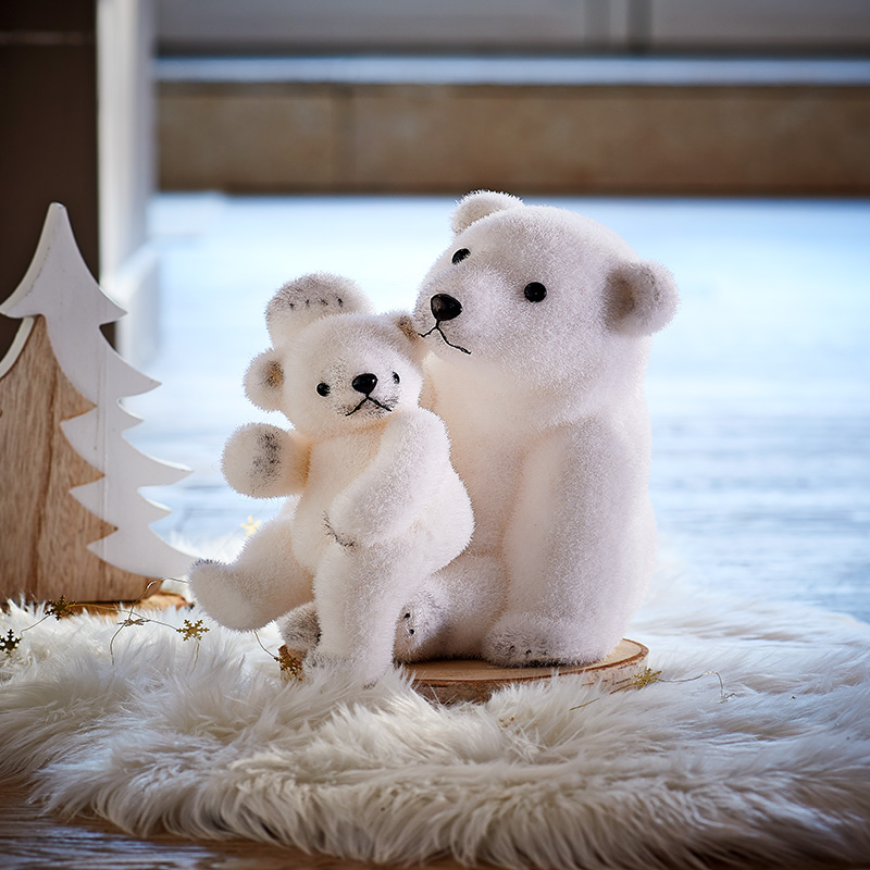 decoration noel ours polaire