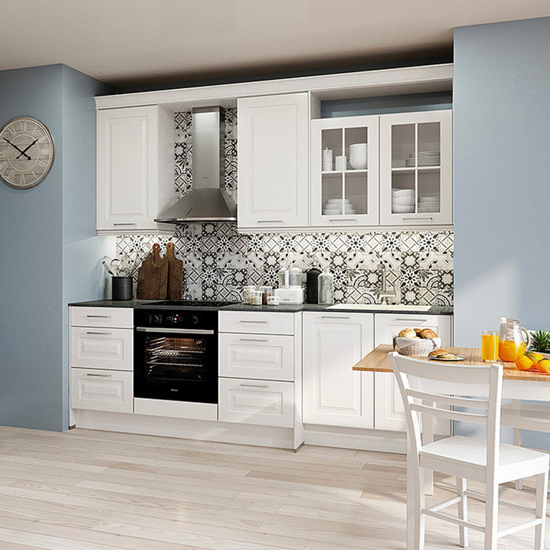 style campagne cuisine carrelage