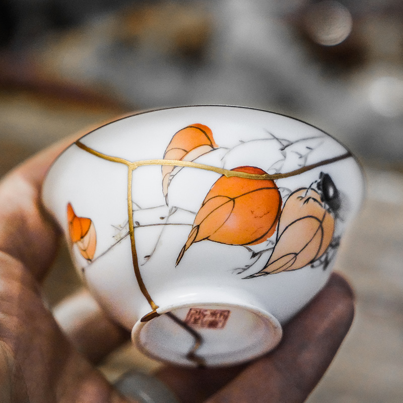 technique reparation kintsugi