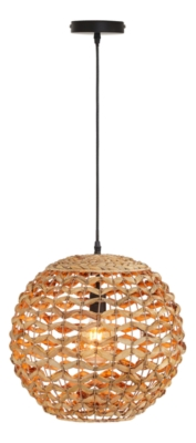 Suspension jacinthe D.40 cm GOA naturel