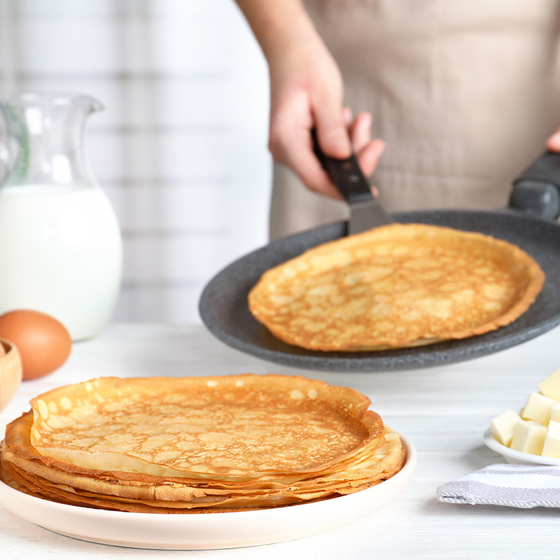 cuisiner crepes traditionnelles
