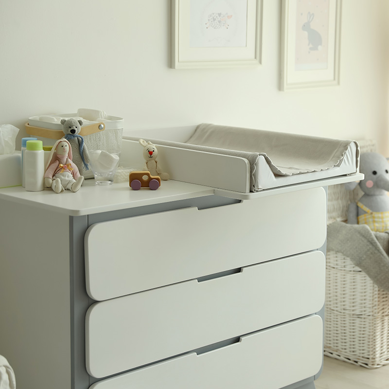 organisation commode table a langer