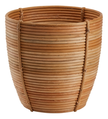Cache pot GM H.31 cm ROTIN Naturel
