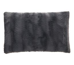 Coussin 40x60 cm SIBERIE Anthracite